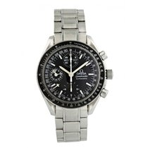 Omega Speedmaster Day Date Steel 39mm Black United States of America, New York, New York