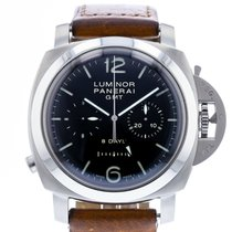 Panerai Luminor 1950 8 Days Chrono Monopulsante GMT Steel 44mm Black United States of America, Georgia, Atlanta