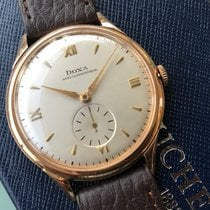 Doxa Rose gold Manual winding Silver 36mm pre-owned