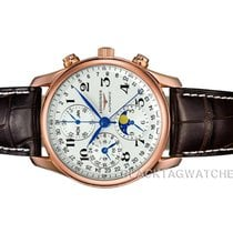 Longines Rose gold Automatic Silver Arabic numerals 40mm new Master Collection