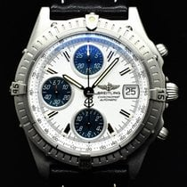 Breitling Steel Automatic White No numerals 40.5mm pre-owned Blackbird