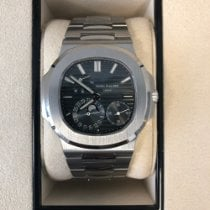 Patek Philippe new Automatic Power Reserve Display 40mm Steel Sapphire Glass