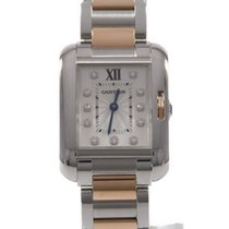 Cartier Tank Anglaise 22mm Silver