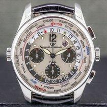 Girard Perregaux WW.TC Steel 43mm Arabic numerals United States of America, Massachusetts, Boston