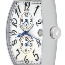 Franck Muller Master Banker Steel 33mm Silver Arabic numerals United States of America, Texas, Dallas