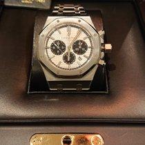 Audemars Piguet Royal Oak Chronograph Acero Plata Sin cifras