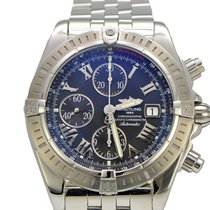 Breitling Chronomat Evolution Stainless Steel Full Package