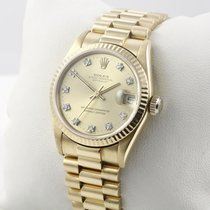 Rolex Lady-Datejust Gelbgold 31mm