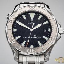 歐米茄 Seamaster Diver 300 M 金/鋼 41 mmmm 黑色 無數字