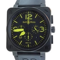 Bell & Ross Br01-94 S Aviator Pvd Chrono Ltd Edition 500...