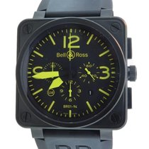 Bell & Ross Br01-94 S Aviator Pvd Chrono Ltd Edition 500...
