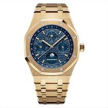 Audemars Piguet 26574BA.OO.1220BA.01 Yellow gold 2020 Royal Oak Perpetual Calendar 41mm new