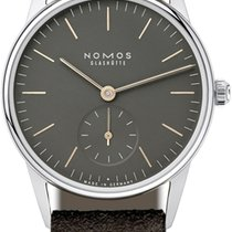 NOMOS Orion 1989 Steel 32.8mm Grey United States of America, New York, Airmont