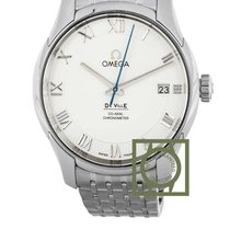 Omega De Ville Co-Axial Staal 41mm Zilver Romeins