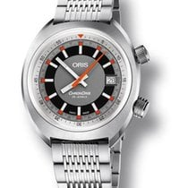 Oris Chronoris Stainless Steel Men's Watch 73377374053MB