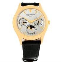 Patek Philippe Perpetual Calendar 18k Yellow Gold Watch 3940...