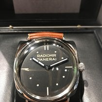 Panerai 47mm Manual winding 2014 pre-owned Special Editions Black