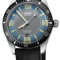 Oris Divers Sixty Five Steel 40mm Blue United States of America, New York, Airmont