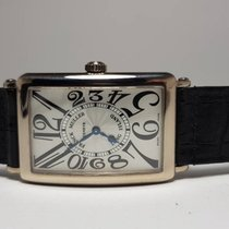 Franck Muller White gold 30mm Quartz 1000 QZ pre-owned