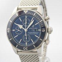 Breitling Superocean Héritage II Chronographe Stahl 44mm Blau Deutschland, Sulzfeld