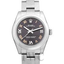 Rolex Oyster Perpetual 31 Stahl 31mm Grau