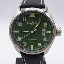 Davosa Military Zeljezo 42mm Zelen Arapski brojevi
