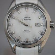 Omega Seamaster Aqua Terra Stahl 34mm Perlmutt Keine Ziffern Deutschland, Hamburg