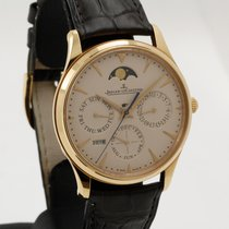 Jaeger-LeCoultre Master Ultra Thin Perpetual Oro rosado 39mm Blanco Sin cifras