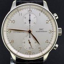 IWC Portuguese Chronograph occasion 41mm Acier