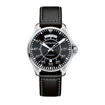 Hamilton Khaki Pilot Day Date Acier 42mm Noir