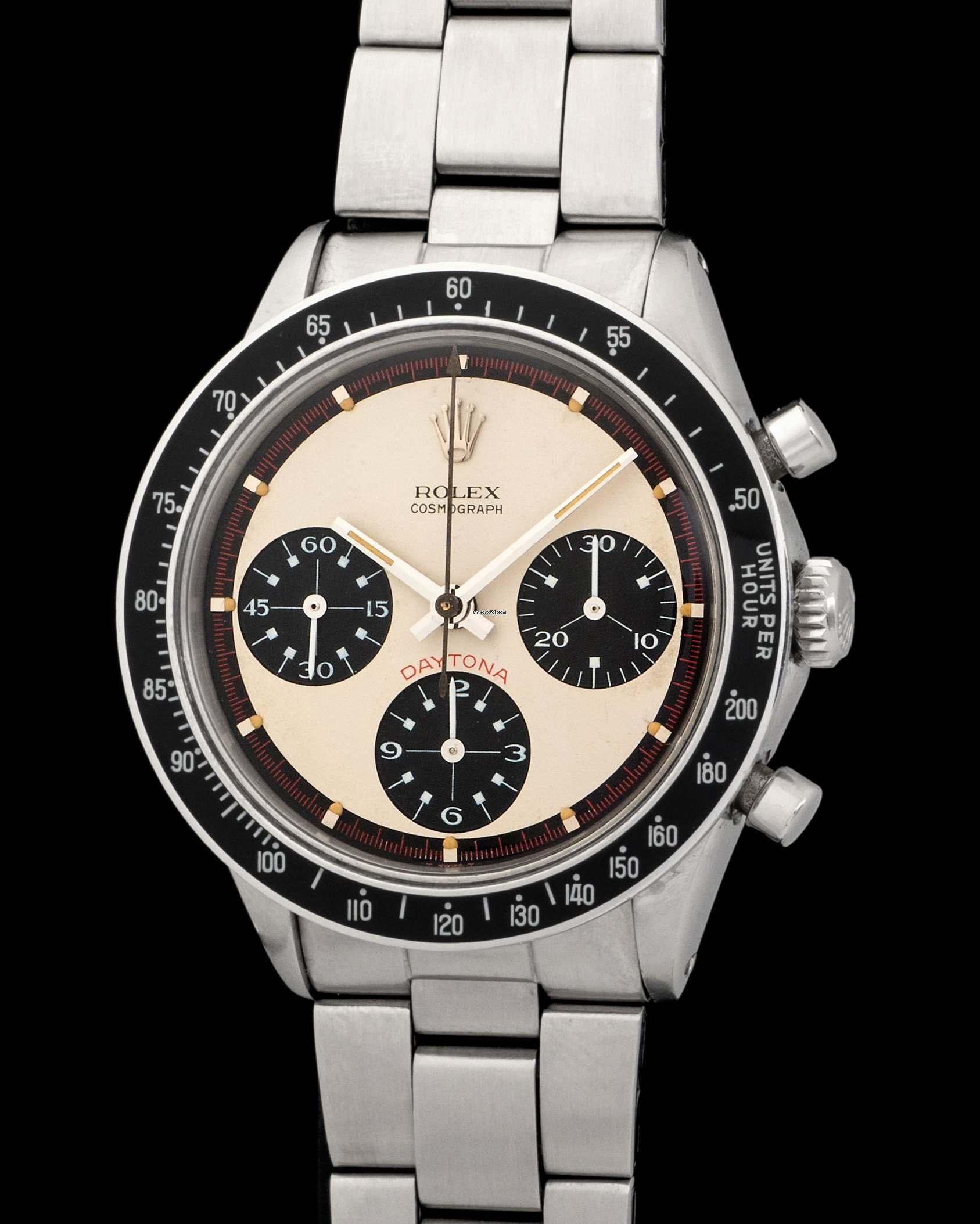 Rolex Daytona 6241 Paul Newman Panda For Price On Request For