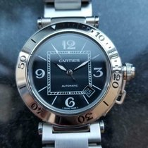 Cartier Pasha Seatimer pre-owned 40mm Steel