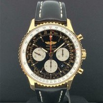 Breitling Navitimer 01 Rose gold 43mm Black