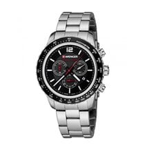 Wenger Steel 45mm Chronograph 01.0853.107 new