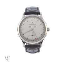 Jaeger-LeCoultre Master Calendar Steel 37mm Silver Arabic numerals United Kingdom, London