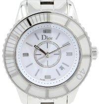 Dior Steel 34mm Quartz CD113118M001 pre-owned