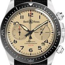 Bell & Ross Stahl 41mm Automatik BRV294-BEI-ST/SF neu