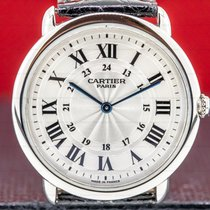 Cartier Ronde Louis Cartier Platinum 36mm United States of America, Massachusetts, Boston