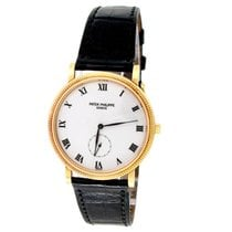 Patek Philippe Calatrava Yellow gold 33mm White Roman numerals United States of America, California, Los Angeles