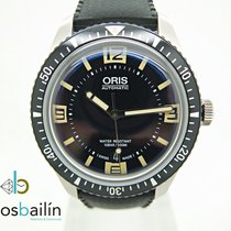 Oris Divers Sixty Five pre-owned 40mm Black Date Rubber