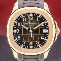 Patek Philippe Rose gold Automatic Brown Arabic numerals 40mm pre-owned Aquanaut