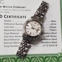 Rolex Oyster Perpetual Lady Date Steel 26mm Grey No numerals