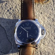 Panerai Luminor 1950 3 Days Power Reserve Steel 47mm Black Arabic numerals United States of America, Colorado, Black hawk