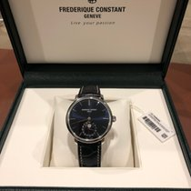 Frederique Constant Manufacture Slimline Moonphase Steel 42mm Blue United States of America, Michigan