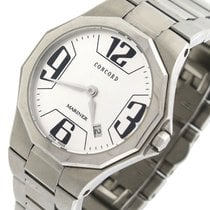 Concord Mariner 14.E6.1850 Stainless Steel Silver 30mm Quartz...