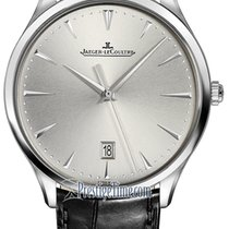 Jaeger-LeCoultre Master Ultra Thin Date Steel 40mm Silver United States of America, New York, Airmont