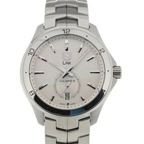 TAG Heuer Link 40 Automatic Silver Dial Calibre 6