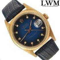 Rolex Datejust 16238 diamond blue vignette dial Full Set 1993