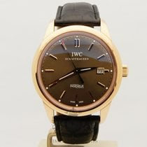 IWC Rose gold Automatic Brown No numerals 42mm pre-owned Ingenieur Automatic