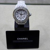 Chanel J12 Diamonds H0967 Diamonds 33mm Swiss Quartz White...